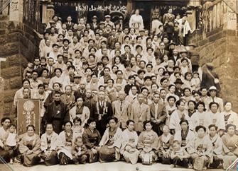 昭和初期の大三神講(神成講)成田詣