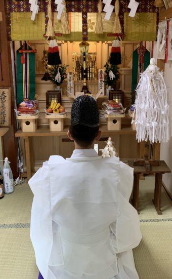 令和二年神無月月次祭